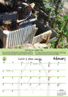February - Catch and store energy