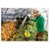 2016 Permaculture Calendar cover