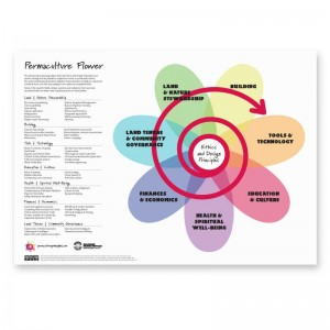 Permaculture Flower Poster