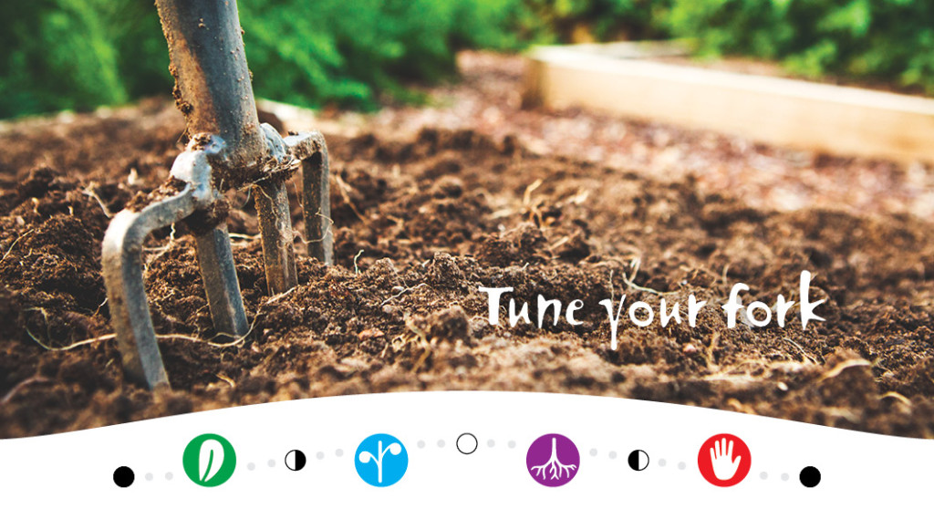 Tune Your Fork - A moon planting guide