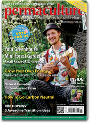 A previous issue with Charlie McGee singer / song writer of the Permaculture Principle tracks