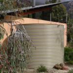 Collecting rainwater in tanks give plenty of options for reuse