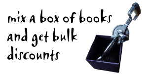 Get bulk discounts with a mixed box of books