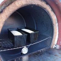 Baking bread in a Rocket Oven