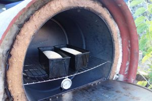 Baking bread in a Rocket Oven